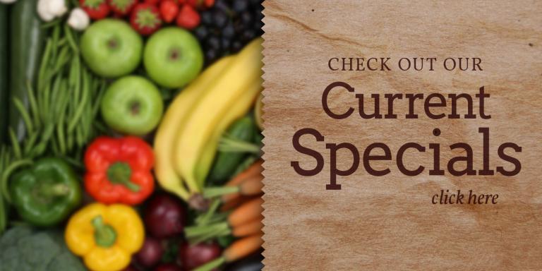 Farmer's Natural Foods Current Specials